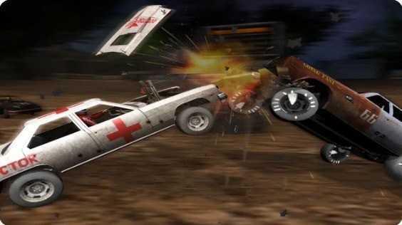 赛车碰撞比赛