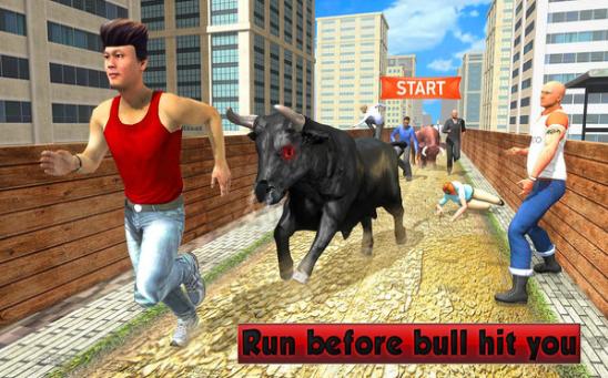 愤怒的公牛模拟器